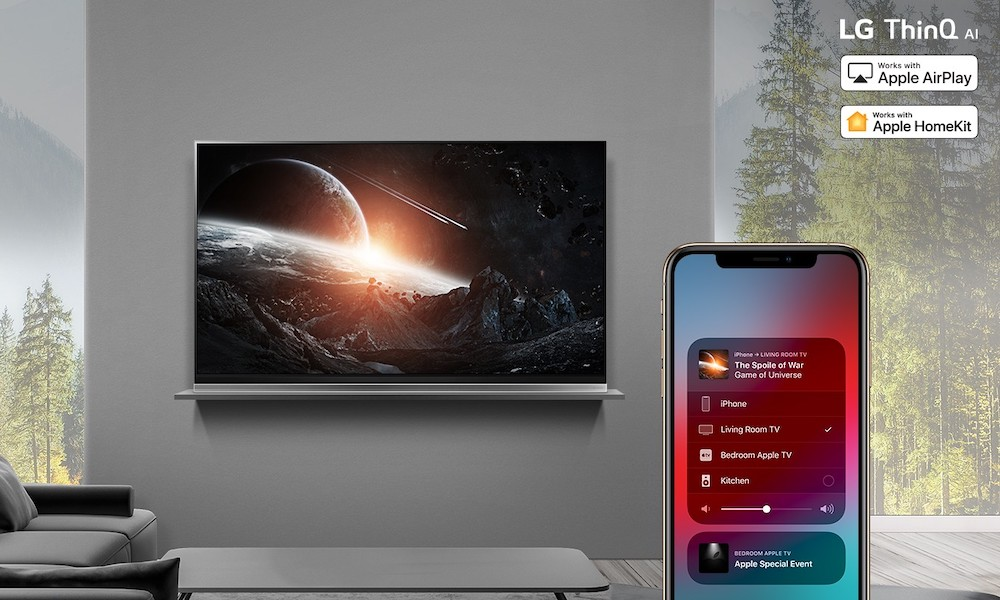 AirPlay2 on 2019 LG ThinQ AI TVs 1