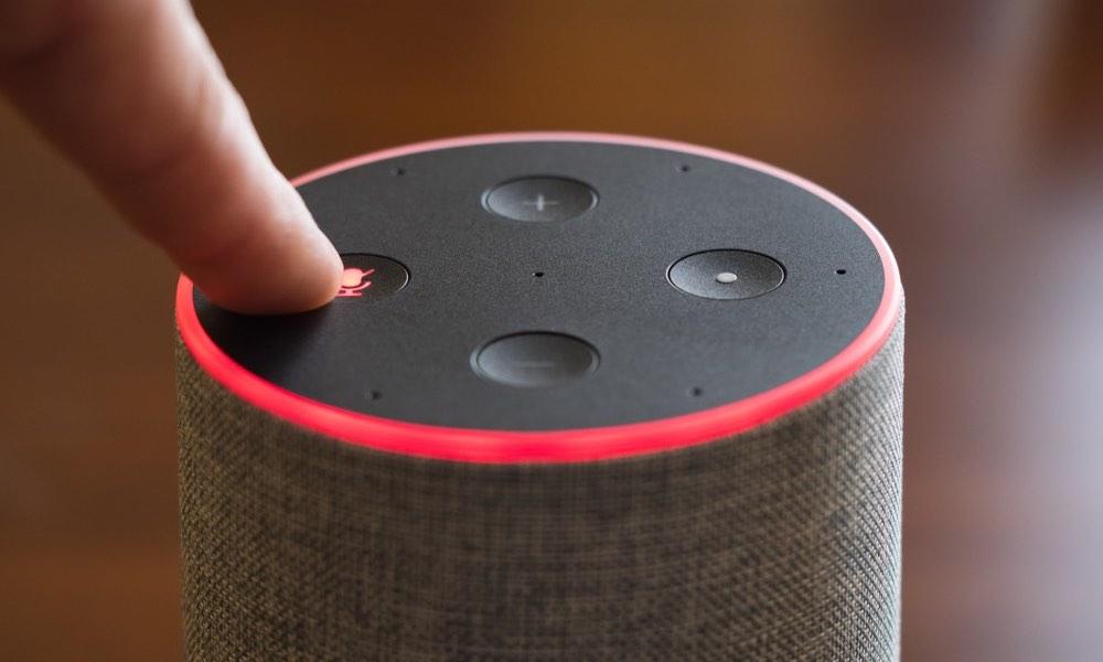 Amazon Echo Alexa Microphone Switch