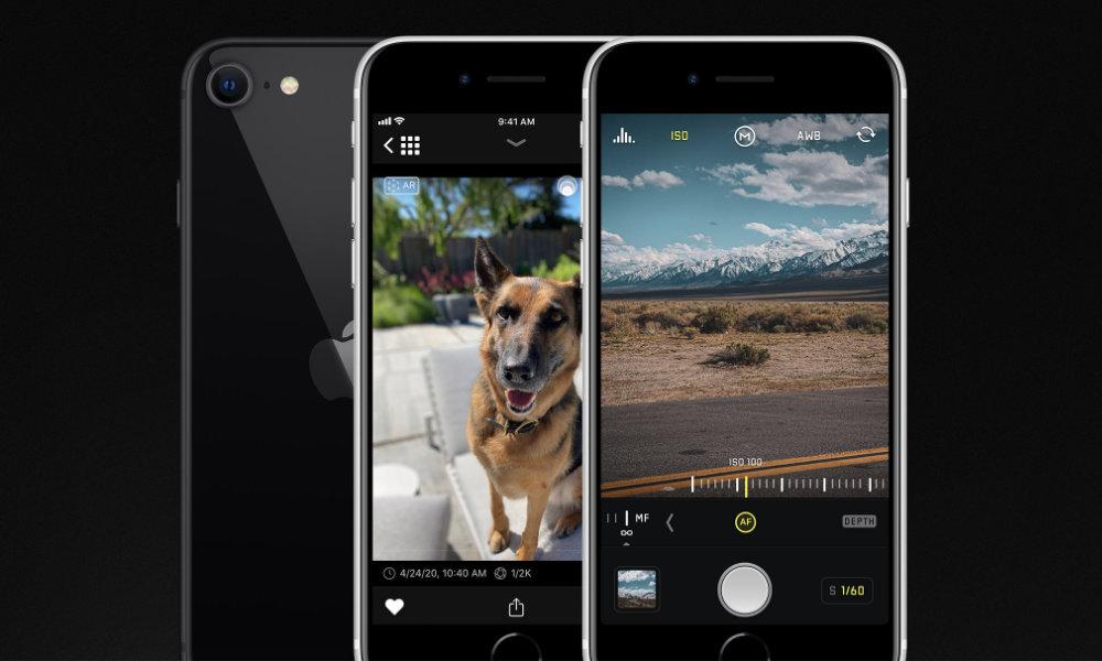 Halide for iPhone SE