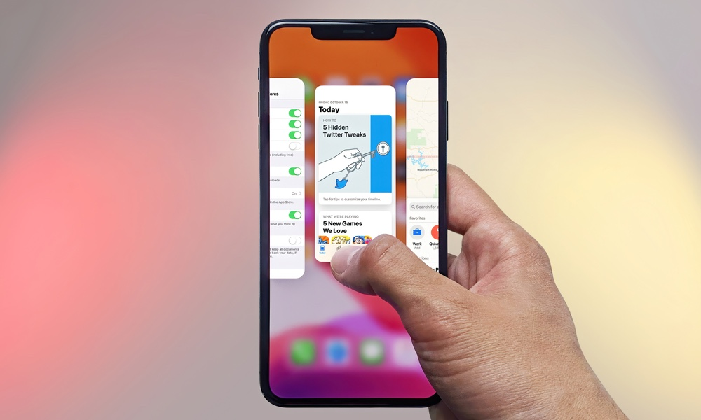 iOS 13 Multitasking App Switcher
