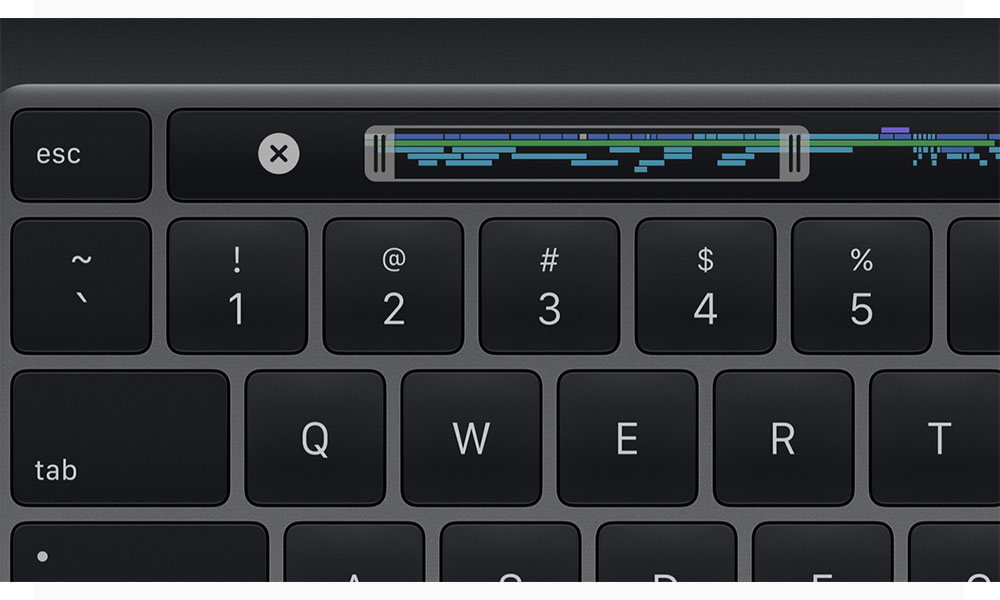 Apple 2020 13 inch MacBook Pro Keyboard