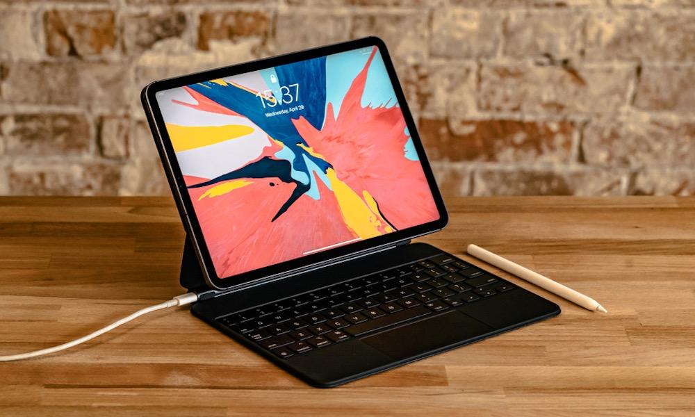 iPad Pro with Magic Keyboard and Apple Pencil