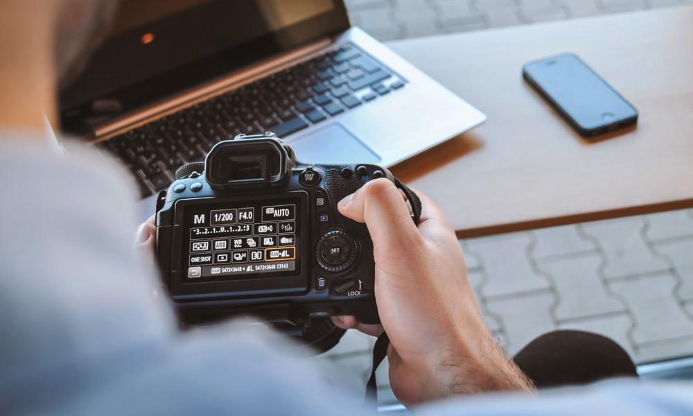 Canon DSLR Camera Settings