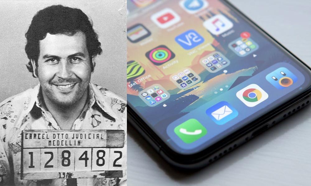 Pablo Escobar iPhone X