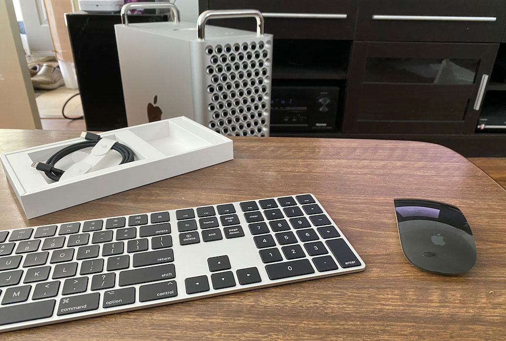 Mac Pro Mouse and Keyboard