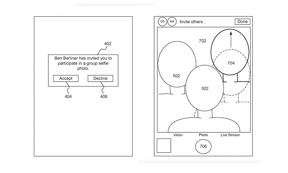 Apple Synthetic Selfies patent