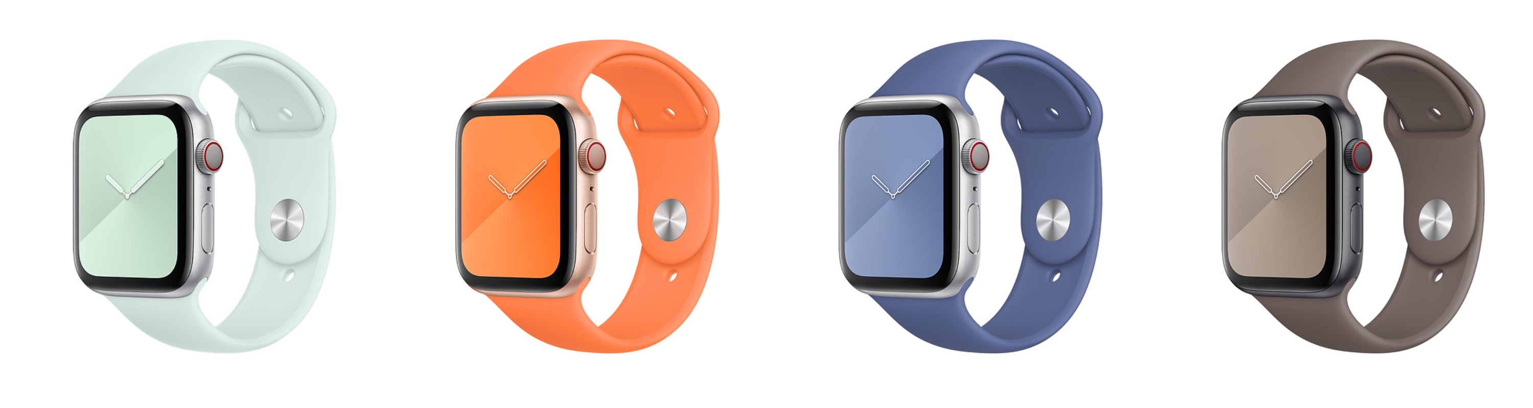 New Summer Colors for Apple Watch