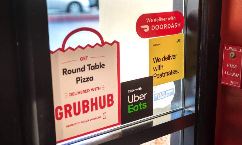 Grubhub DoorDash
