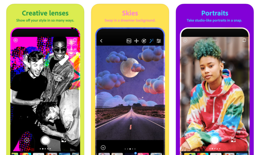 Adobe's New 'Photoshop Camera' App Offers Over 80 Custom Filters and Lenses (Including One by Billie Eilish)