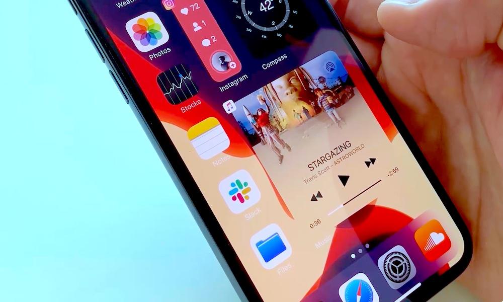 iOS 14 Widget Concept