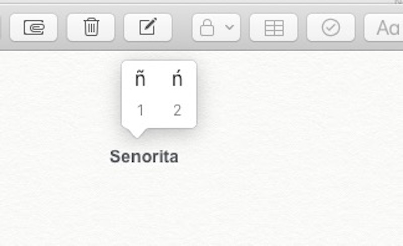 Accents on Letters macOS