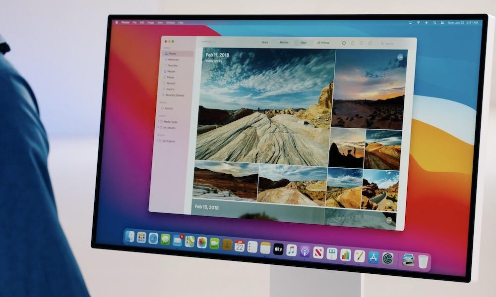 macOS Big Sur Photos Hero