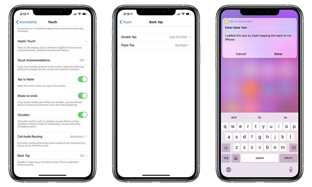 iOS 14 Back Tap Accessibility