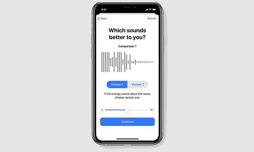 iOS 14 Headphone Accommodations