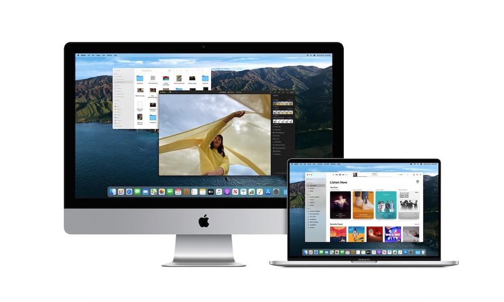 Macs Running Big Sur