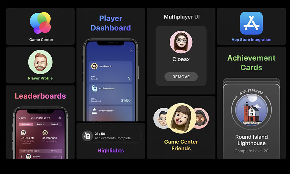 iOS 14 Game Center Features