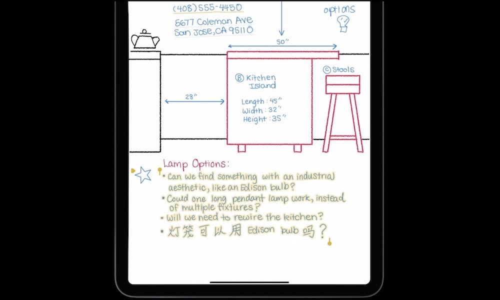 Convert Handwriting to Text Scribble iPadOS