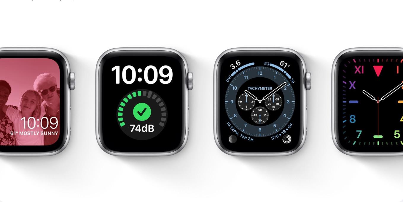 Apple watchOS 7 Tachymeter