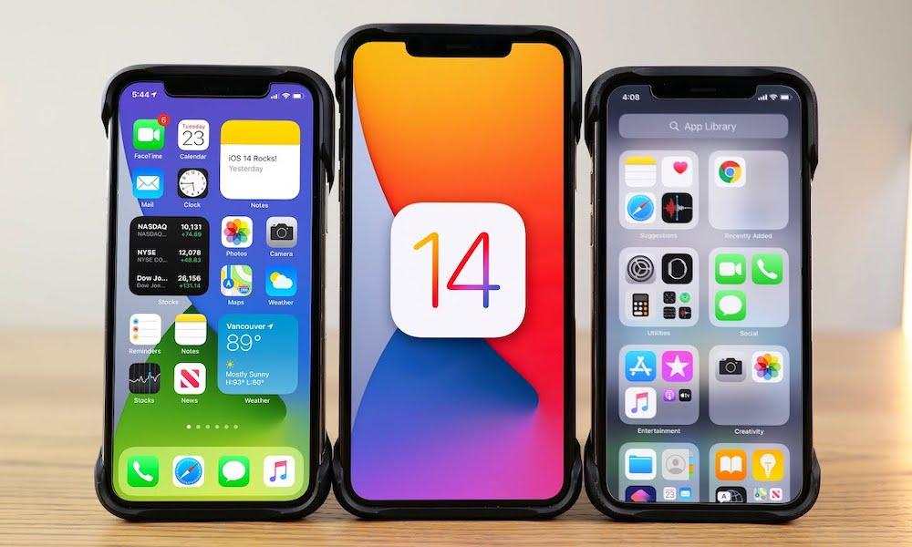 iOS 14 Widgets on iPhone