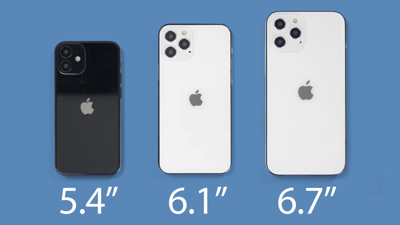 iPhone 12 Sizes Compared