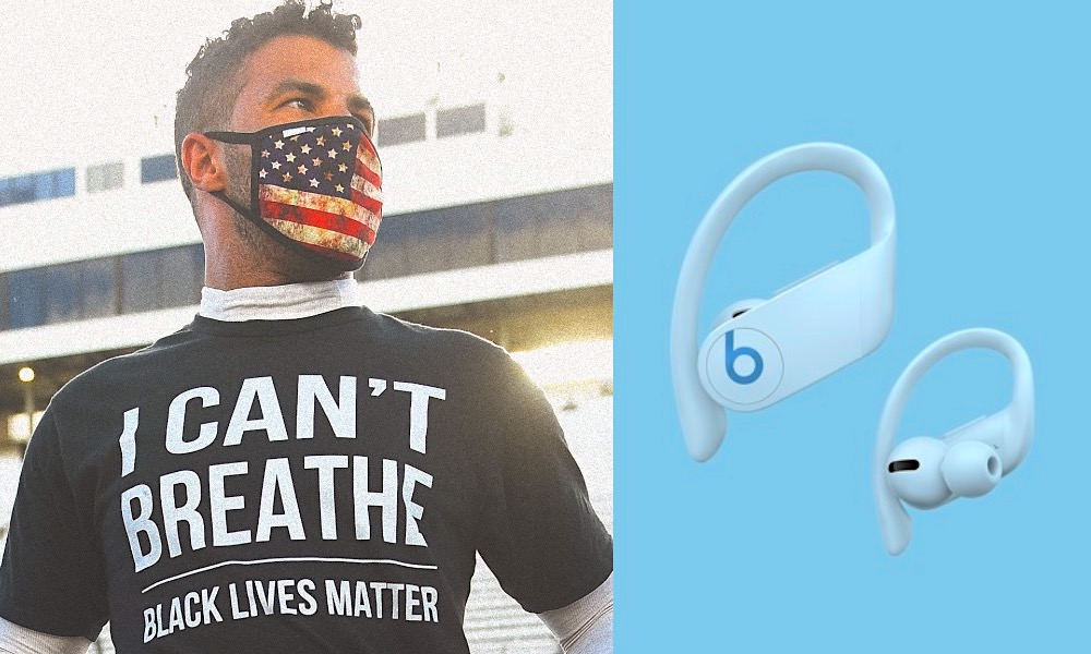 Bubba Wallace NASCAR Beats by Dre Black Lives Matter