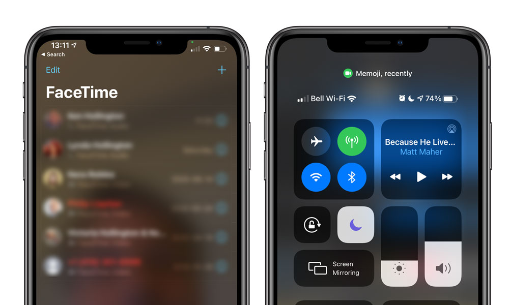 iOS 14 Camera Privacy Indicators