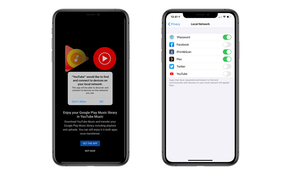 iOS 14 Local Network Access Privacy