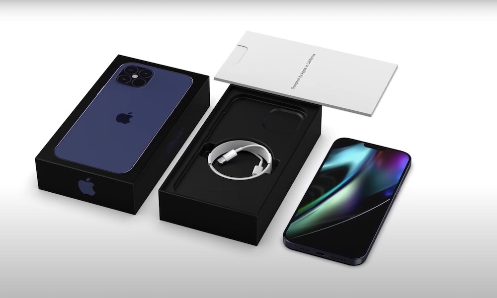 iPhone 12 with Box Concept Image 10