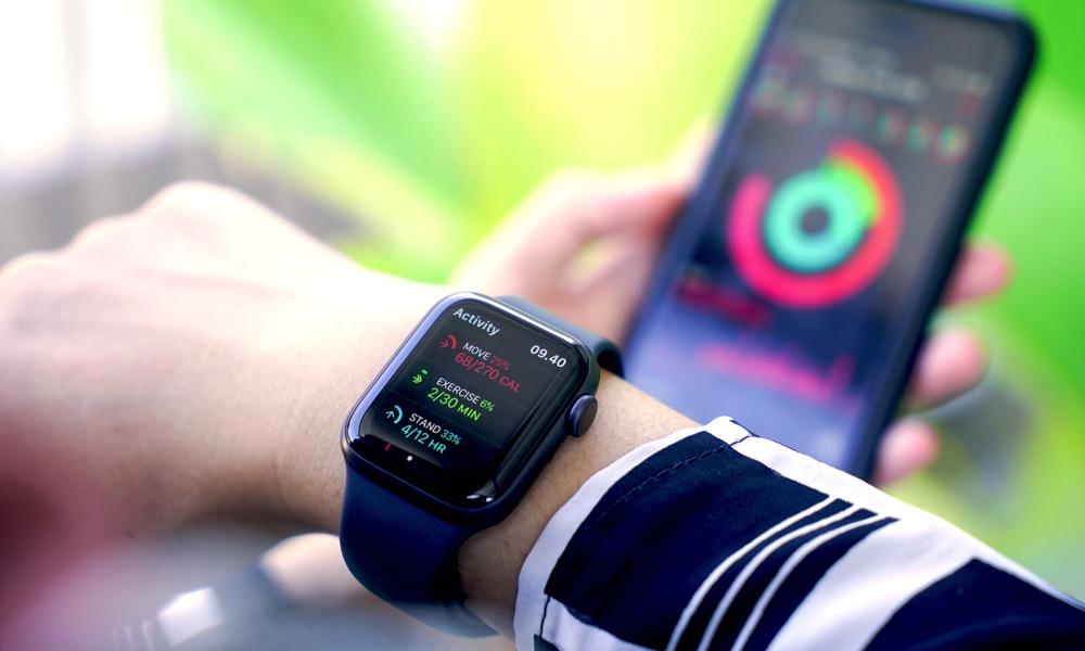 Apple Watch iPhone Activity App