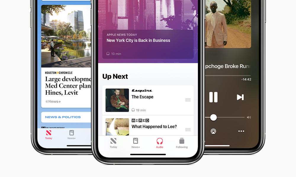 Apple News iOS 13.6