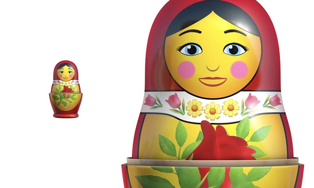 iOS 14 emoji nesting doll