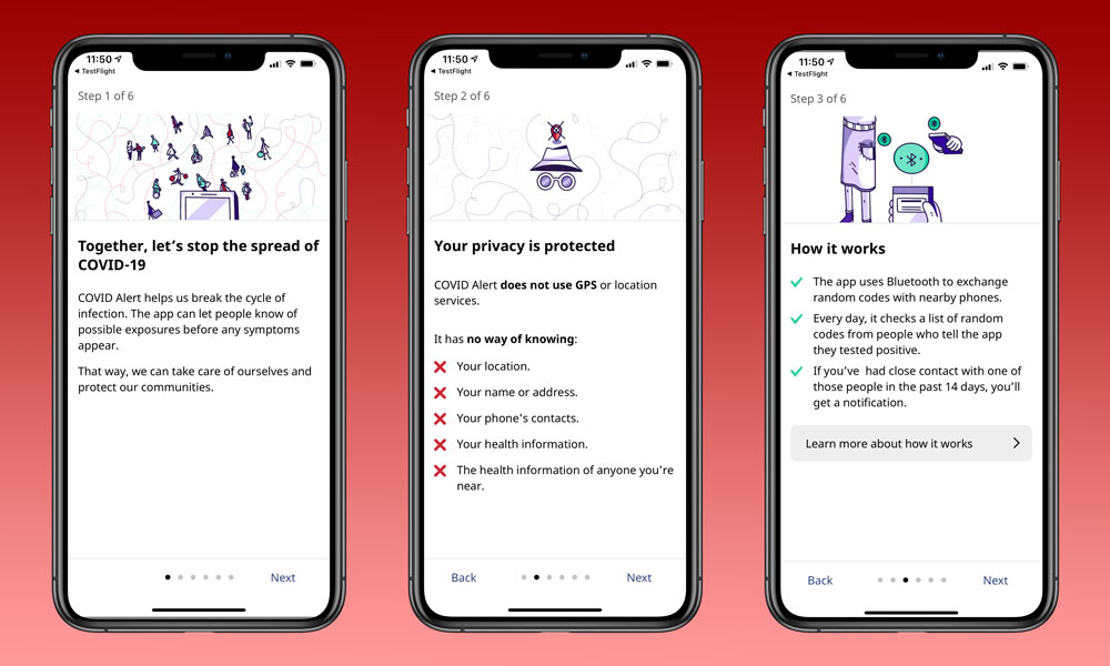 Canada COVID Alert app