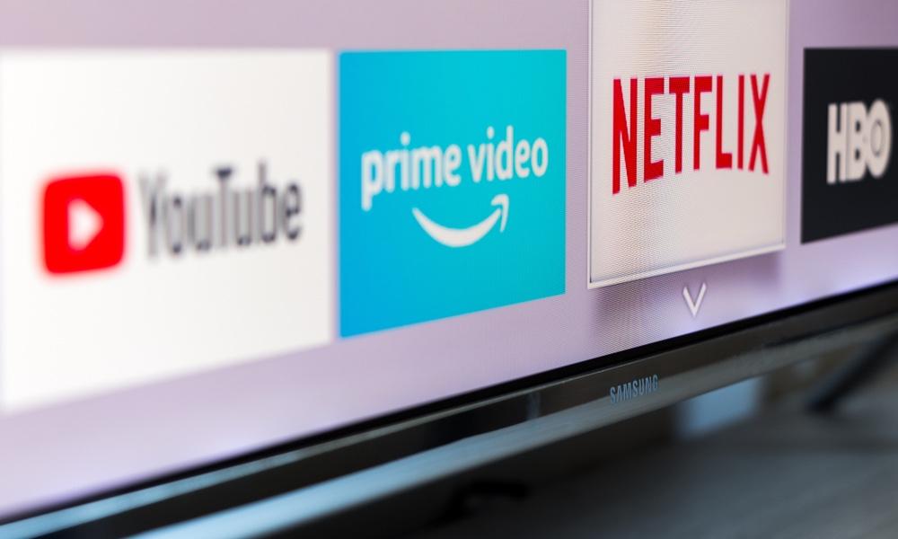 Amazon Prime Video and Netflix on Samsung Smart TV