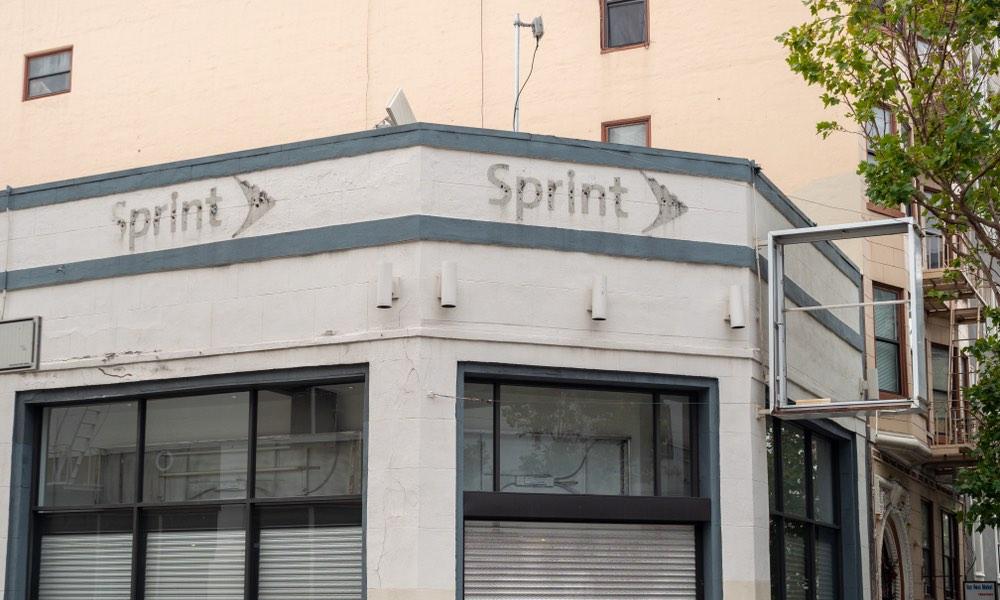 Abandoned Sprint Wireless Store