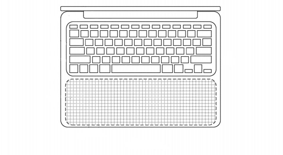 MacBook TrackPad Patent
