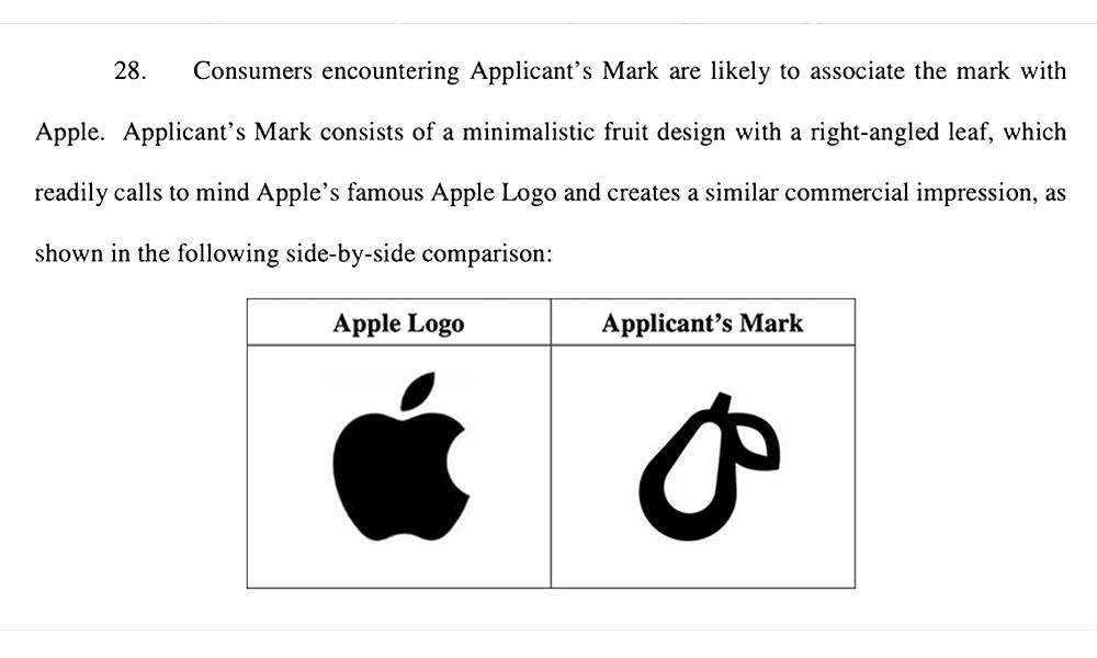 Apple Prepear Opposition Filing
