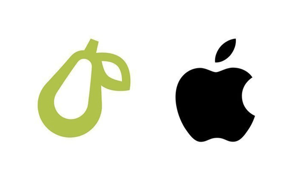 Prepear vs Apple logo