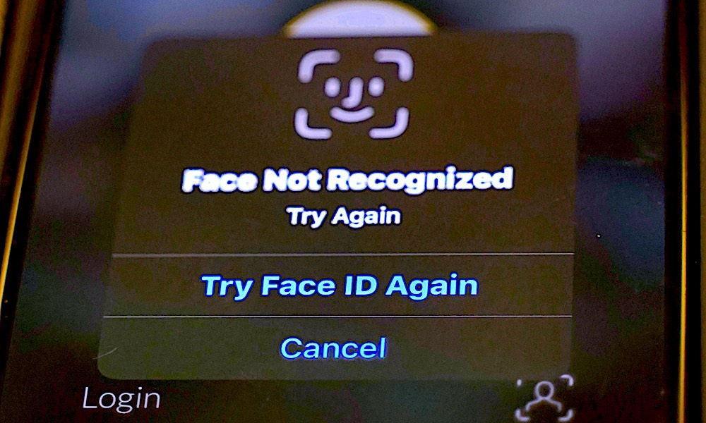 Face ID Not Recognized Face ID Failure
