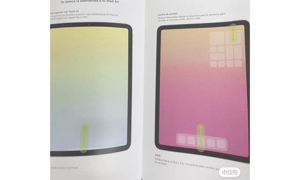 Leaked 2020 11 inch iPad Air manual