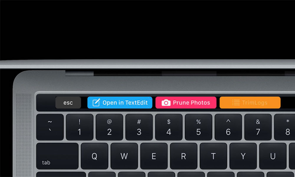 Quick Actions Mac Touch Bar