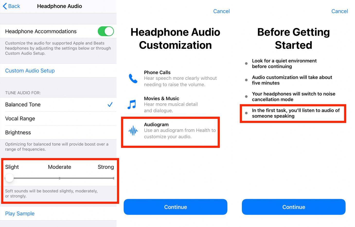 headphone accommodations 2