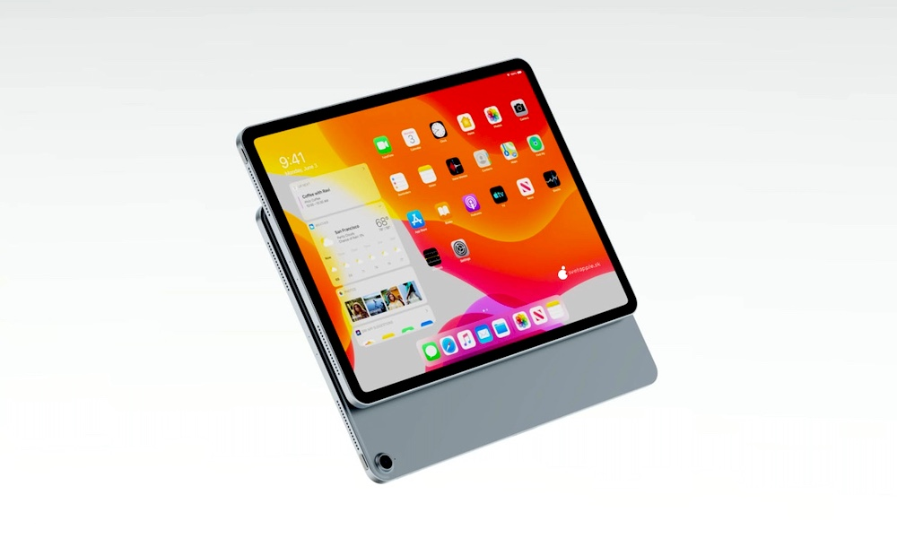 Apple iPad Air Concept with Touch ID