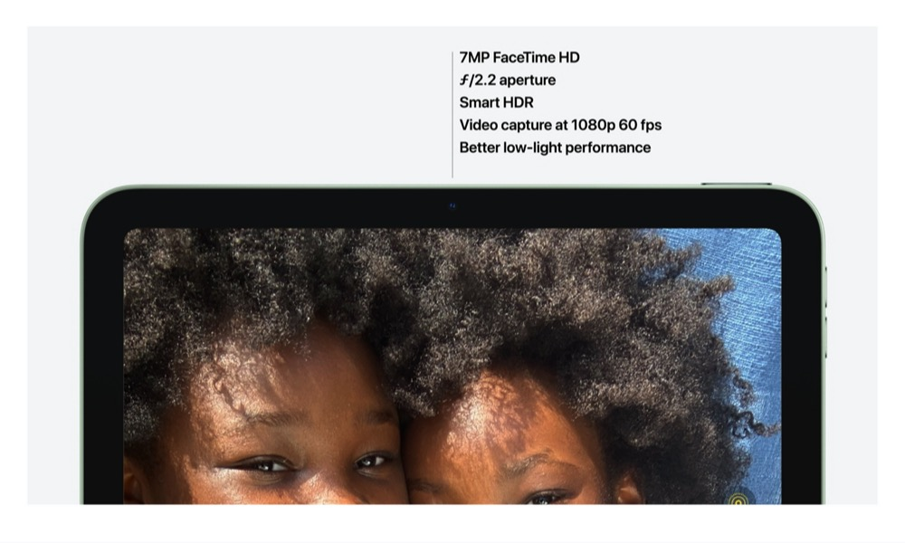 iPad Air Cameras 1