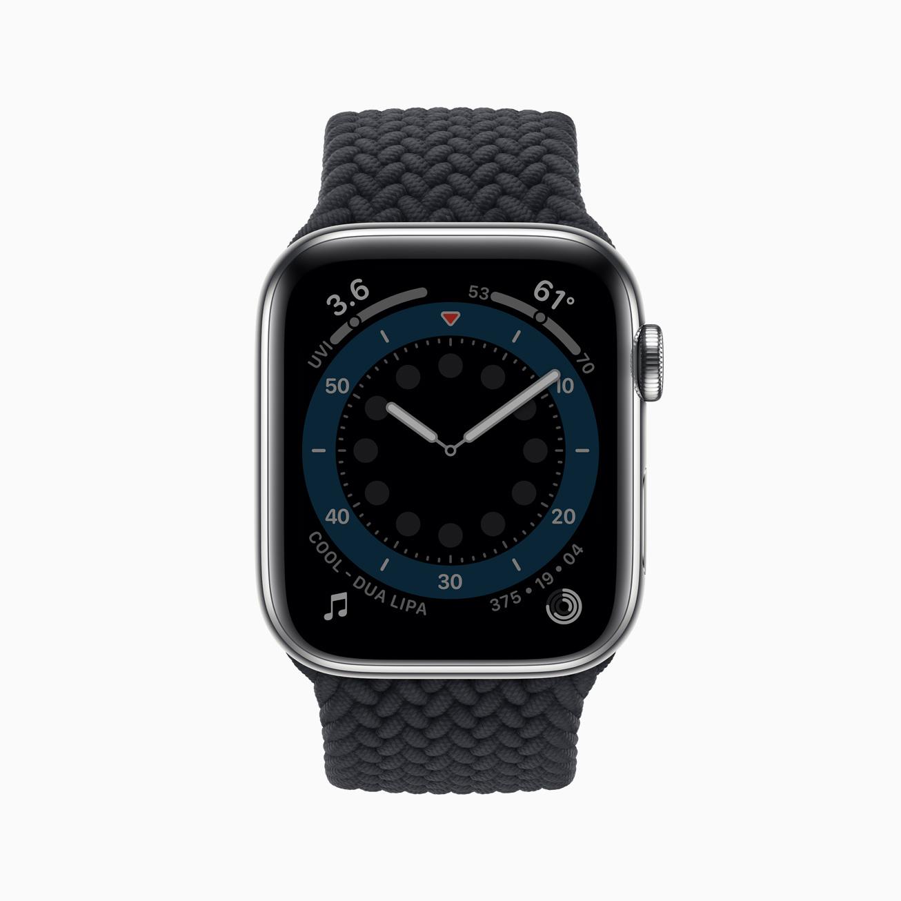 Apple watch series 6 always on display 09152020