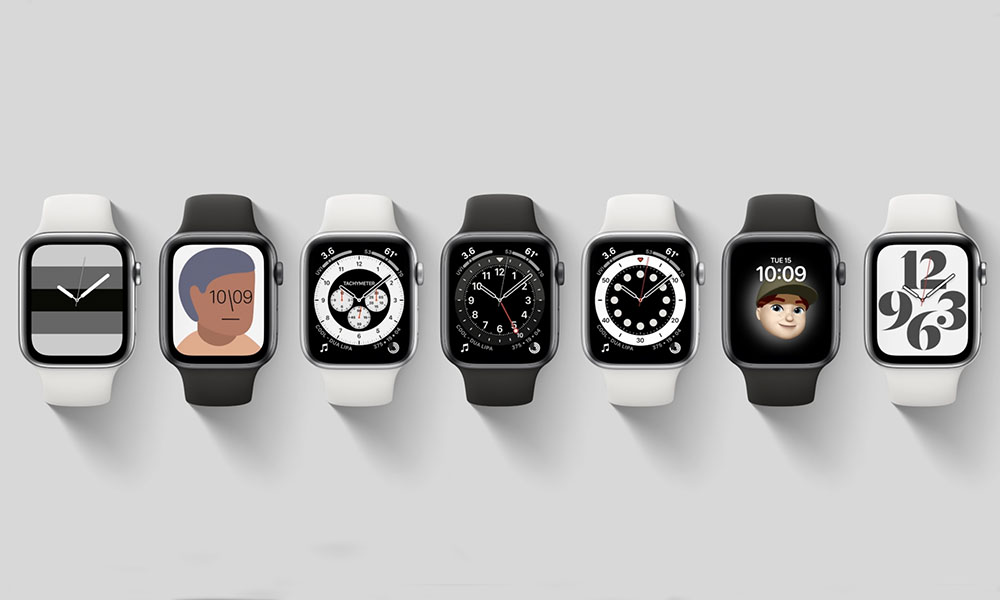 Apple Watch Faces S6 and watchOS7