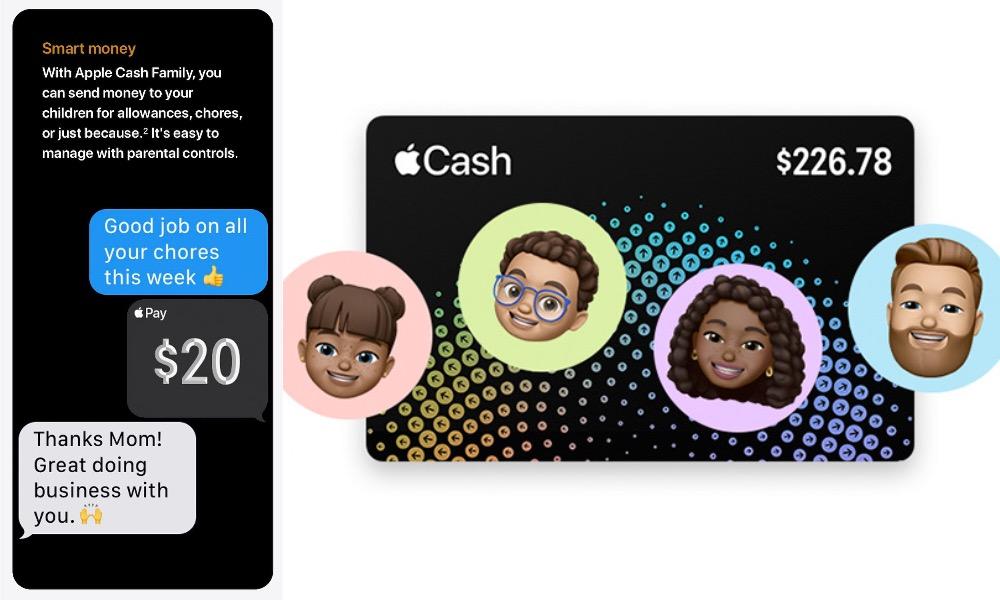 Apple Cash Family