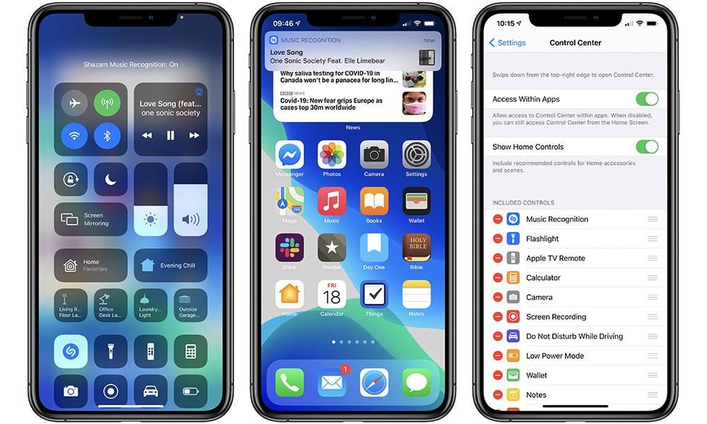 iOS 14.2 Shazam