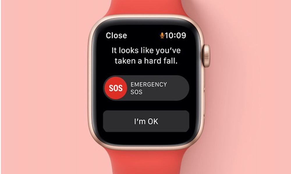Apple Watch SE Fall Detection