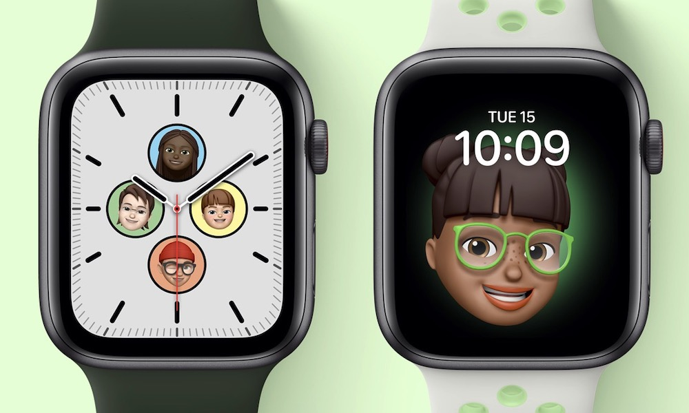 Apple Watch SE Memoji Face