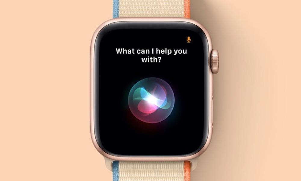 Apple Watch SE Siri
